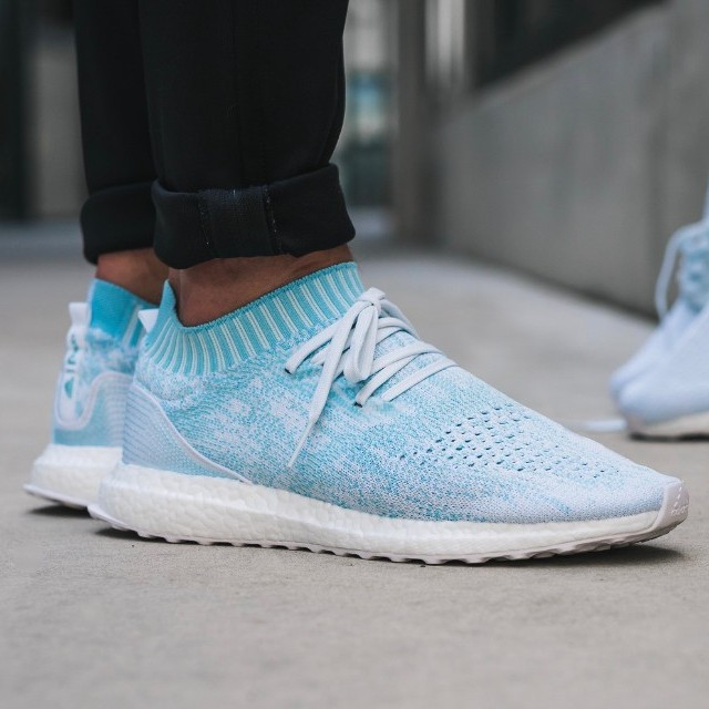 21a6a1d66aa34 Adidas Ultra Boost Uncaged - Parley Ice Ocean Blue