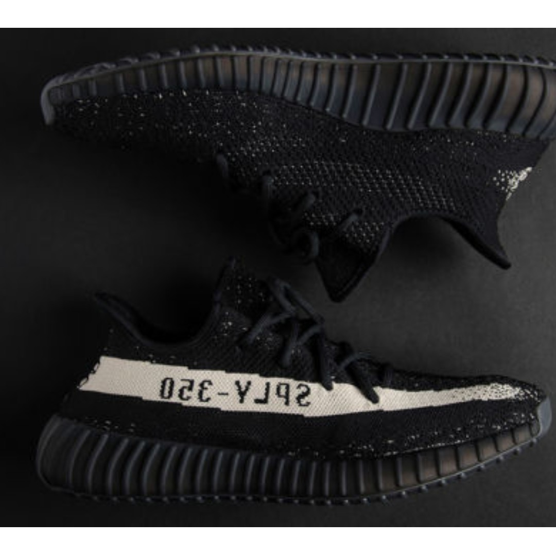 the latest 78783 84919 Adidas YEEZY Boost 350 V2 Core Black White