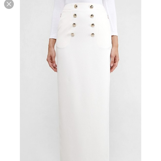 Aere white skirt in L