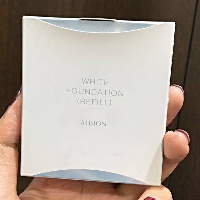 ALBION 夏 雪膚粉餅蕊