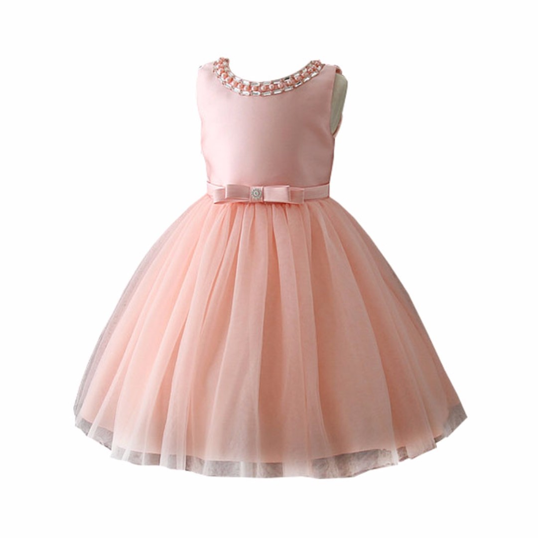 MixMatch285 Amelia Pink Party Dress Formal Birthday