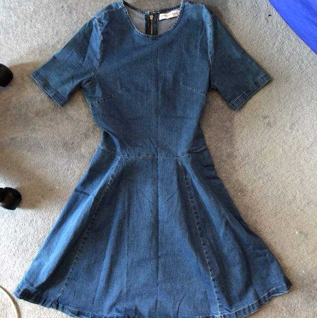 Atmos & Here Denim Dress - Size 10