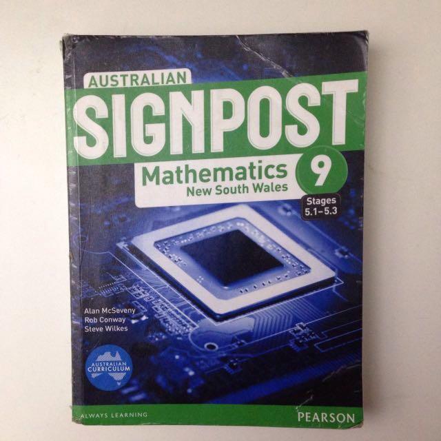 Australian Signpost Mathematics 9