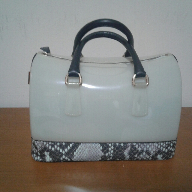 Authentic FURLA Genuine Leather Candy Bag