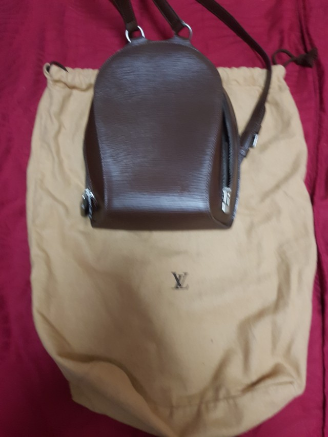 ef61db018fbe Authentic Louis Vuitton Tassil Epi Leather Mabillon Backpack Bag ...