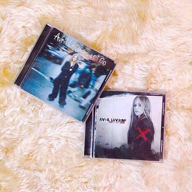 Avril Lavigne 1st & 2nd Album