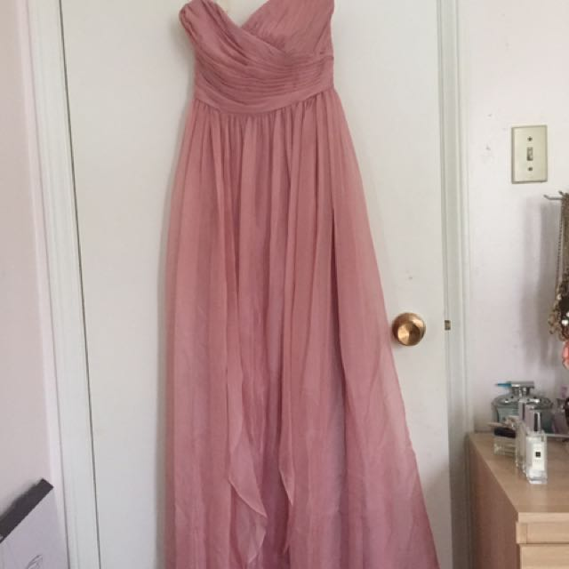B2 Jasmine dress in dusty pink