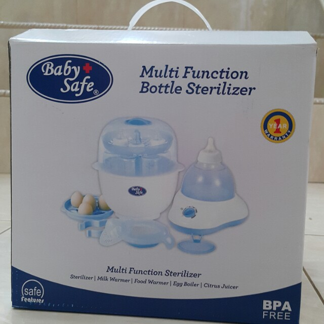 BabySafe Multifunction Bottle Sterilizer