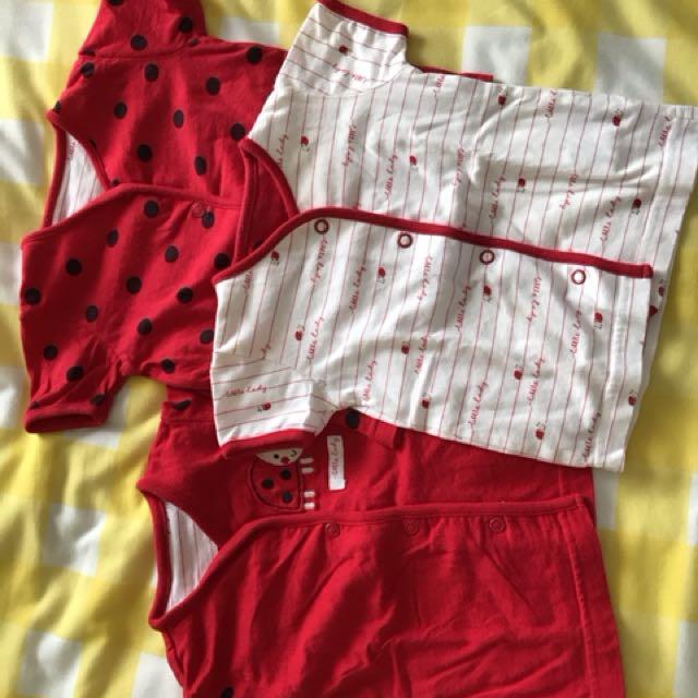 Baju baby 3-6 bulan merk mothercare