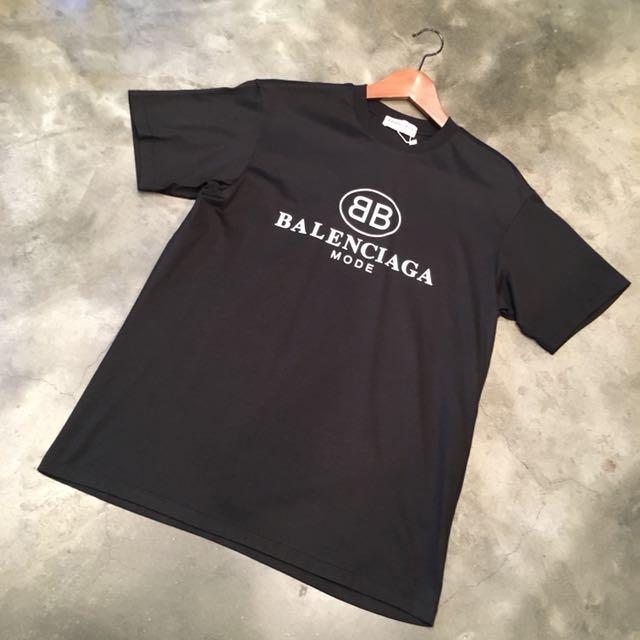 cc9c41ff Balenciaga BB Mode Tee, Men's Fashion, Clothes on Carousell