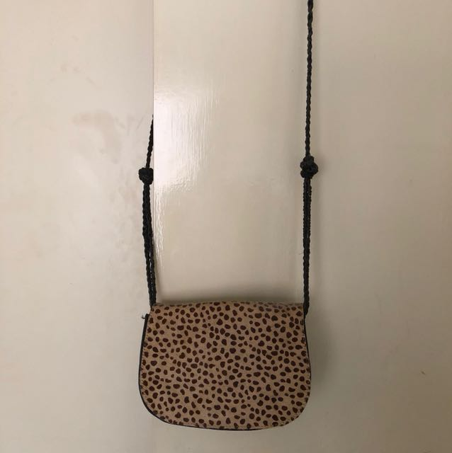 BARDOT leopard bag