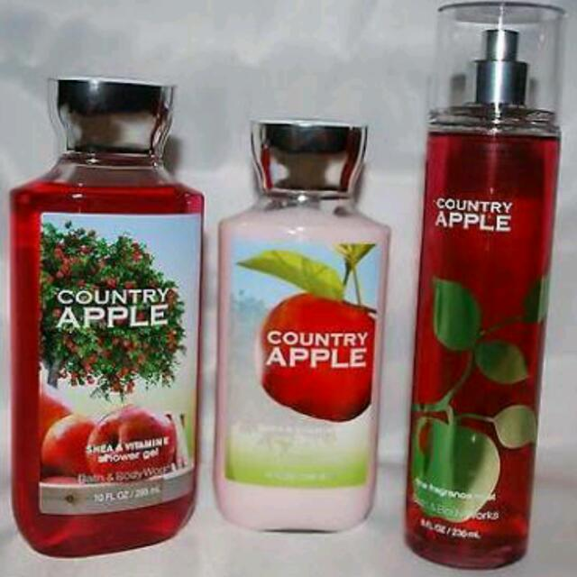 Bath & Body Works Set Of Lotion, Shower Gel & Mist
