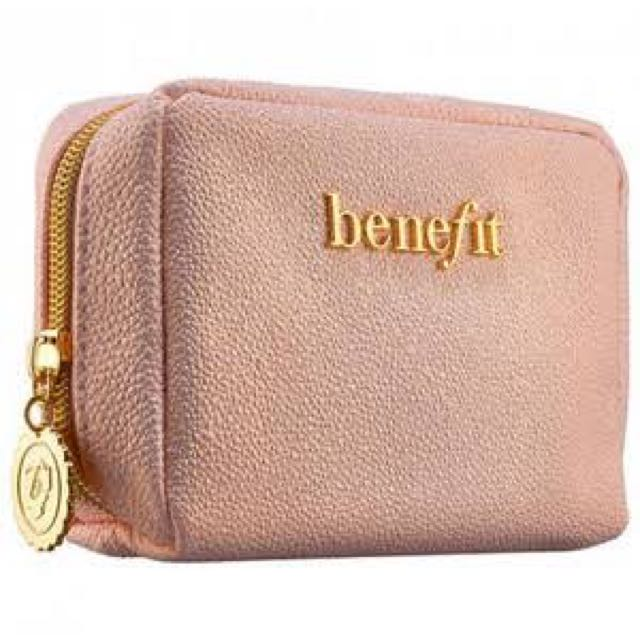 Benefit pouch pink leather (sin)