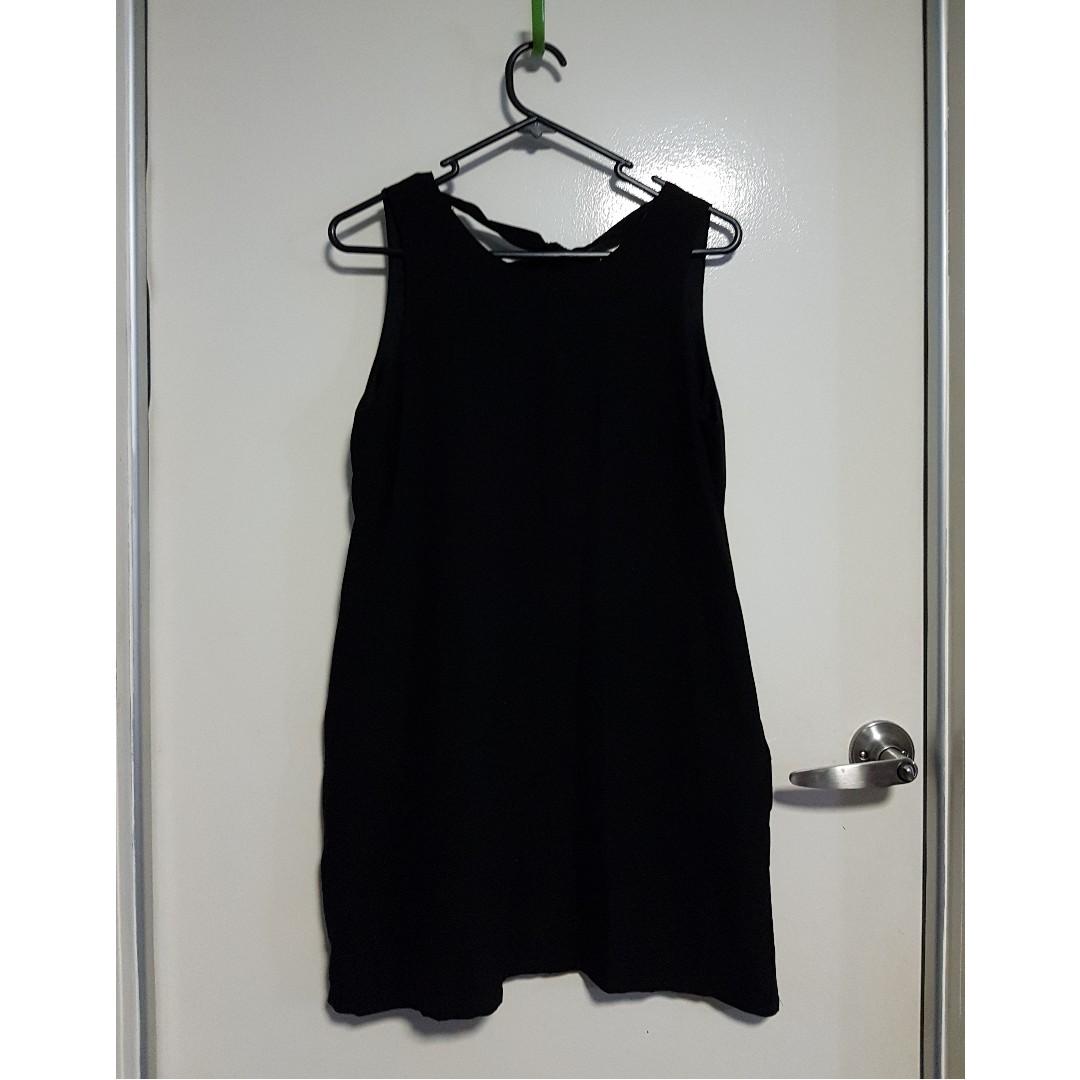 Black Mini Length Dress