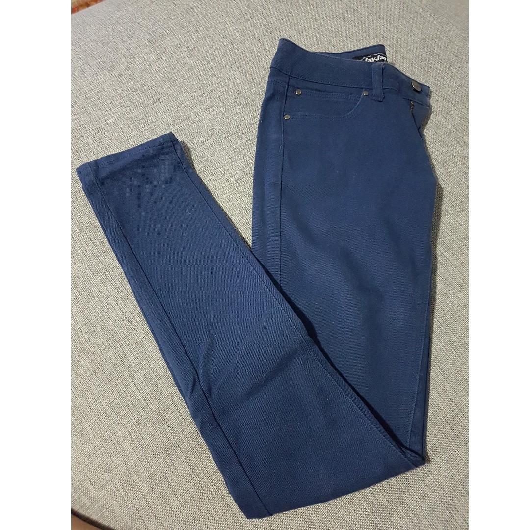 Blue Skinny Jeans (Size 9 JayJays)