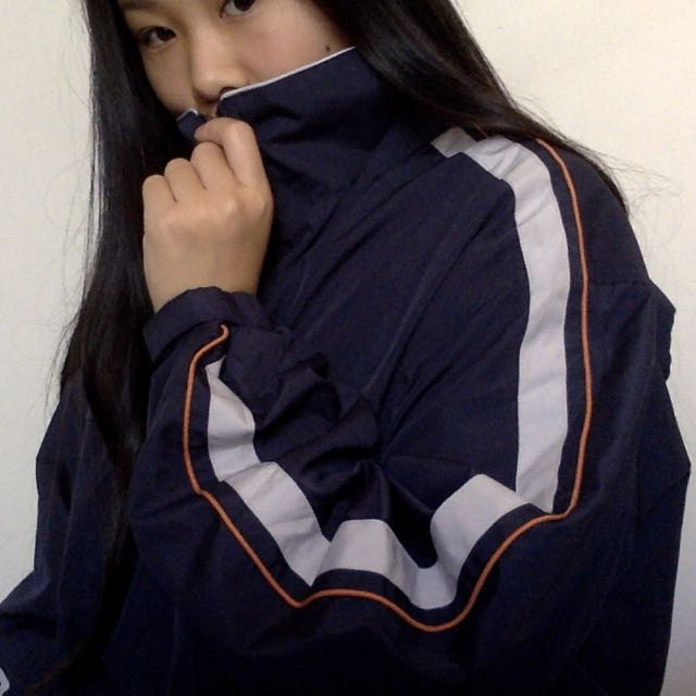 BLUE WINDBREAKER (reflective)