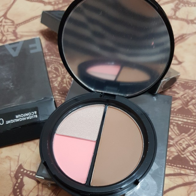 Blush highlight contour