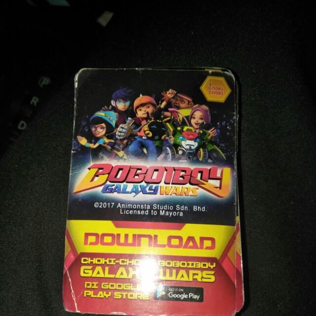 Bobbi Boy Galaxy Card googleplay store download