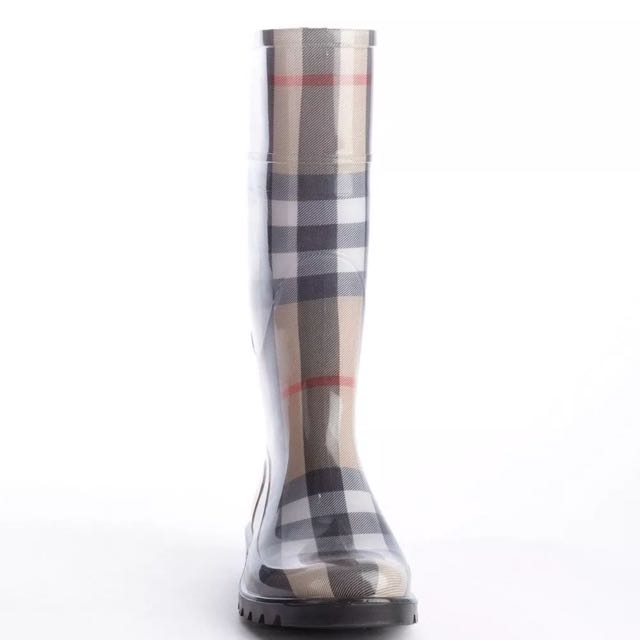 Burberry Lisson Rainboot House Check Gumboots Size 38