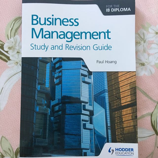 Business management study and revision guide paul hoang ib photo photo photo fandeluxe Image collections