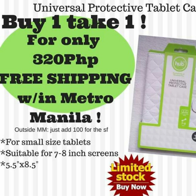 Buy 1take1 Universal Protective Tablet case