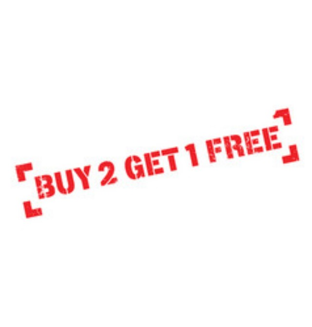 Buy Any 3 Items And Get The Cheapest Free! 200+ Items!