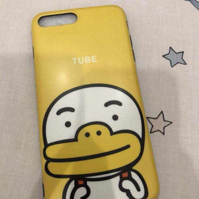 Case Iphone 7 Plus Tube yellow