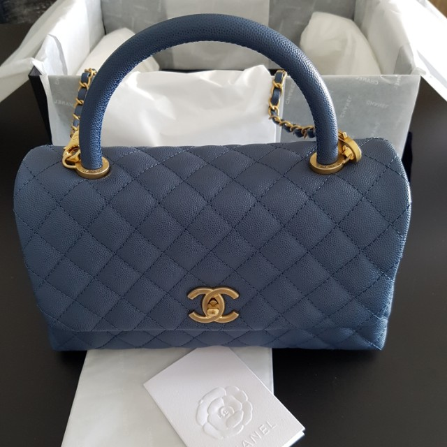 09e24146265f Chanel Coco handle, Women's Fashion, Bags & Wallets on Carousell