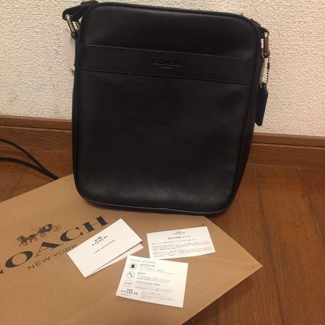 Coach Messenger Bag for Men authentic