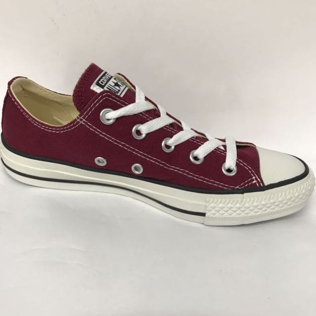 CONVERSE CT AS MAROON LOW CUT CANVAS