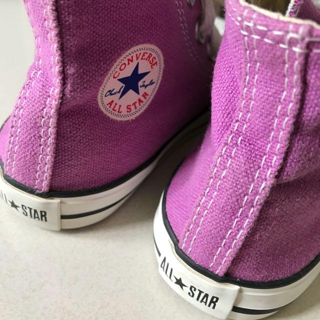 b5651098a7aa Converse Kids Baby Girls Chuck Taylor All Star Hi-cut (Infant ...