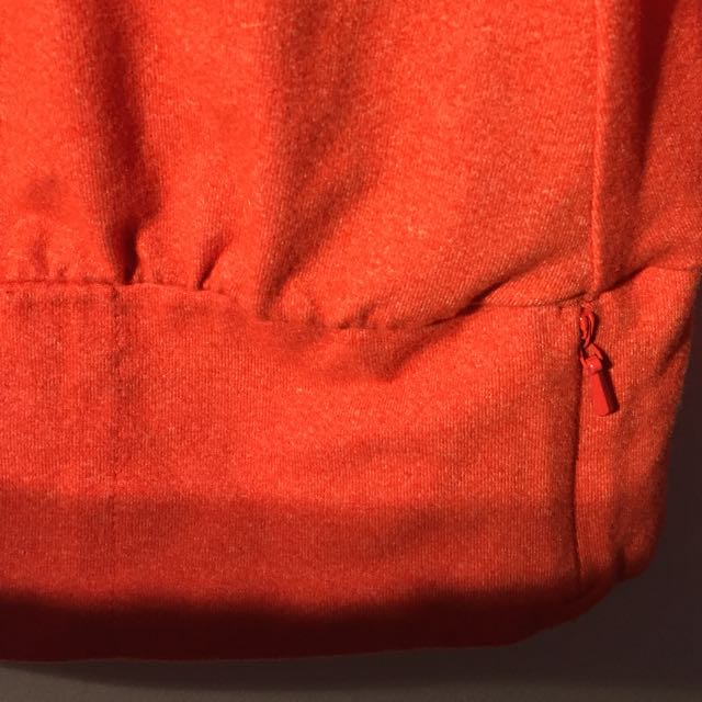 Coral Lole removable hoodie sweater/sweatshirt - Medium