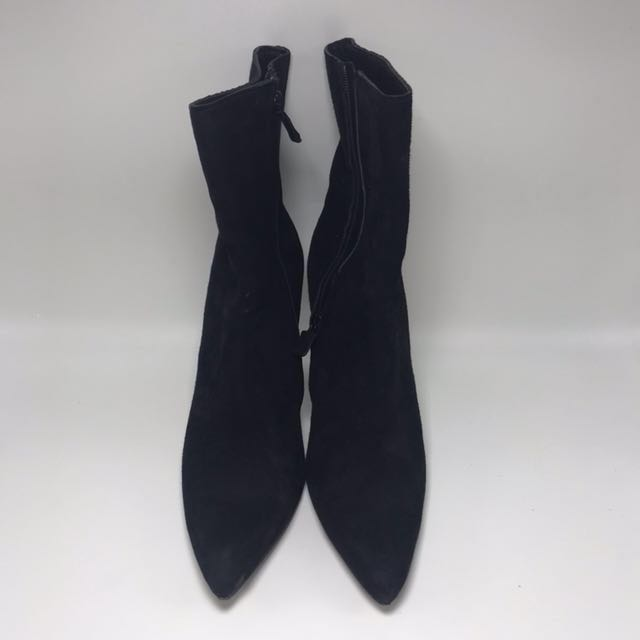 Costume National Luxe ORI BOOTS SUEDE LEATHER SEPATU SHOE