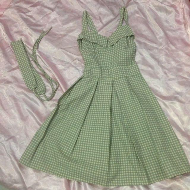 Dress Tartan Green