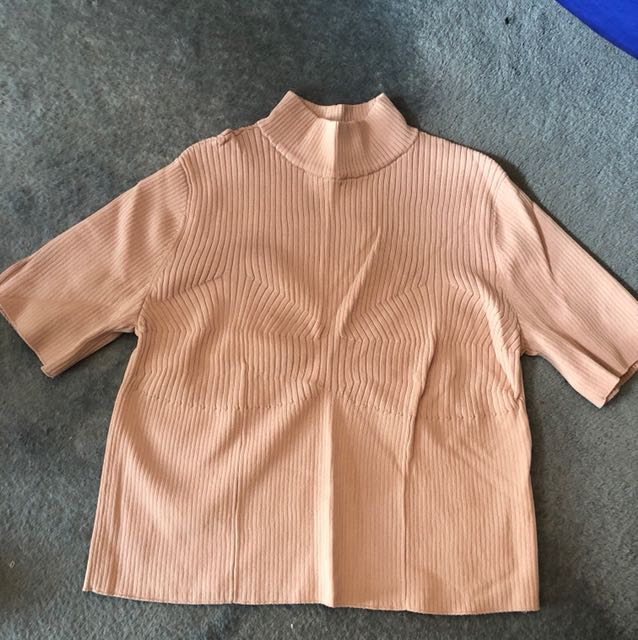 Dusty pink top - H&M Size 8