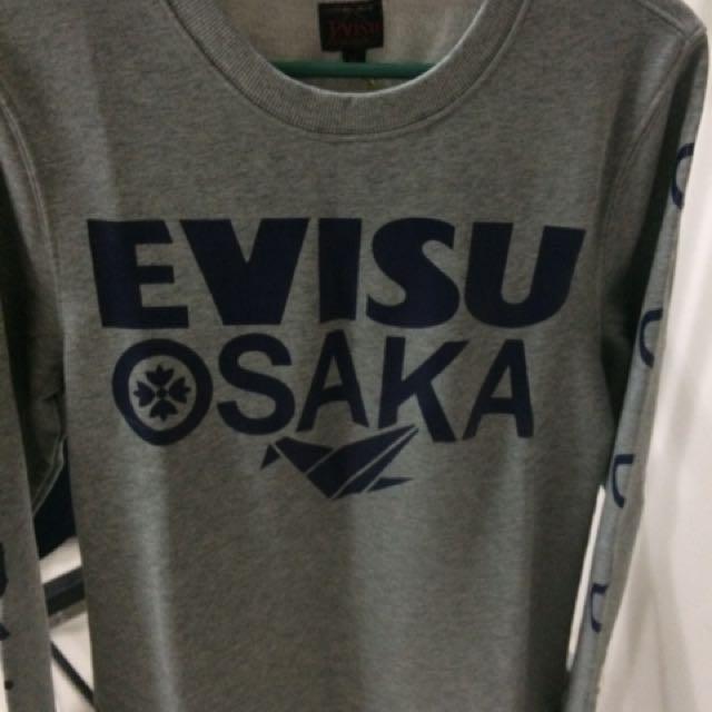 Evisu Long Sleeve Shirt M size