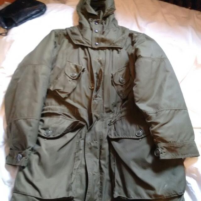 Extreme Cold Army Parka Mens Sz5