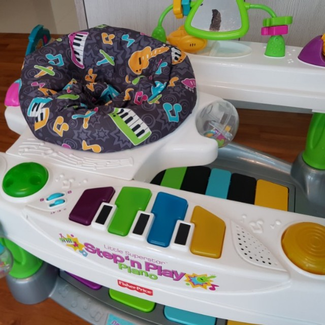 dac819c9e Fisher-Price Superstar Step  N Play Piano Baby Toddler Toy ...