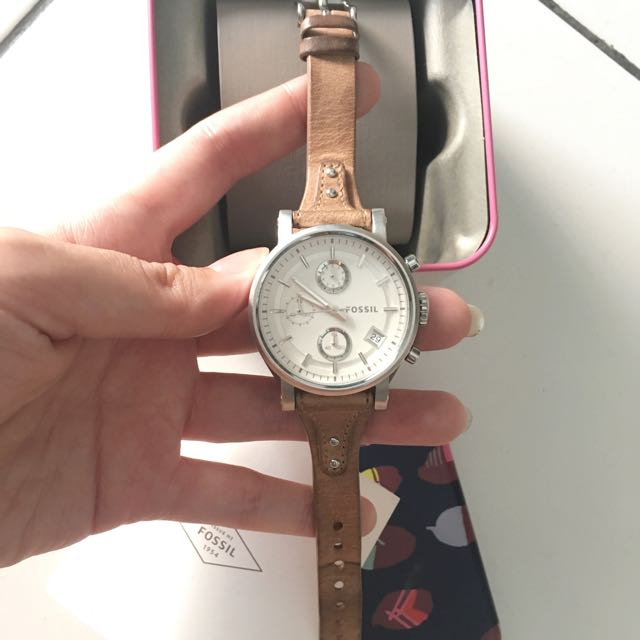 Fossil boyfriend cream