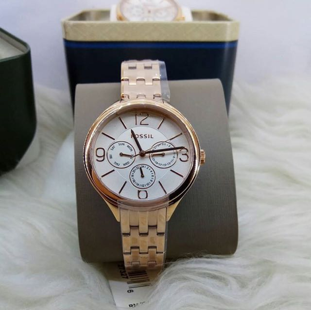 Fossil watch rose gold BQ 3127