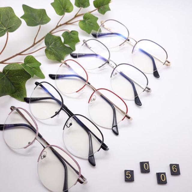 Frame kacamata fashion 5006 || Lensa Gantung Free Pasang Lensa Minus, plus & cylinder