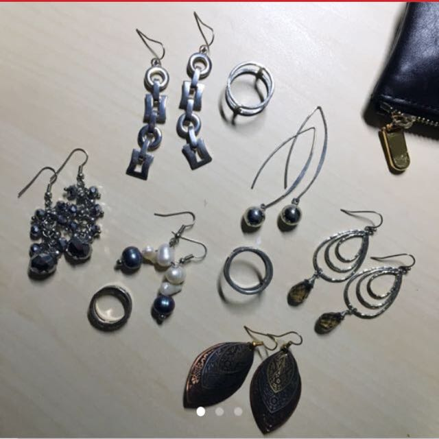 FREE earrings with any purchase