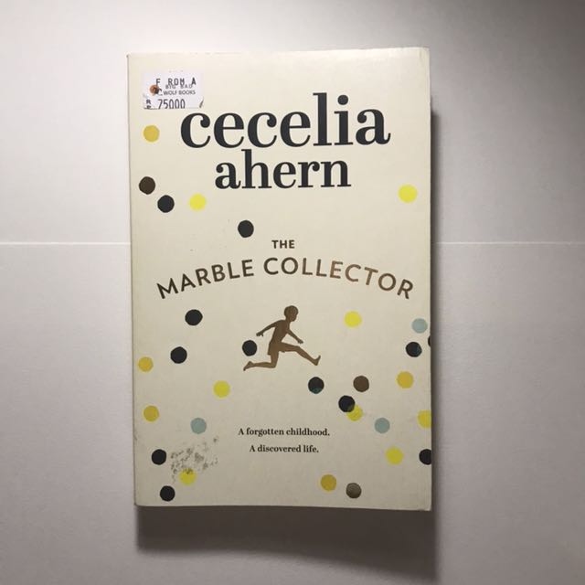 FREE ONGKIR Cecelia Ahern The Marble Collector Novel