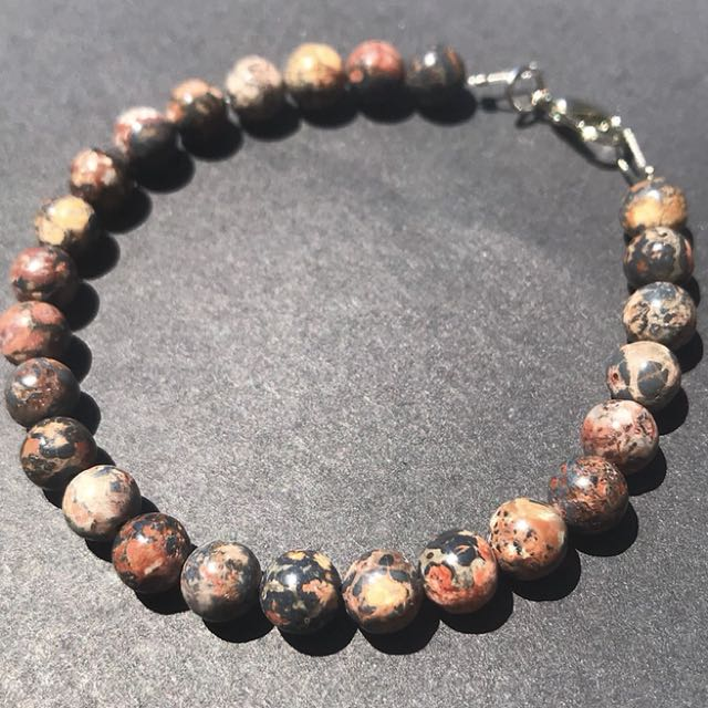 Gemstone beaded bracelets