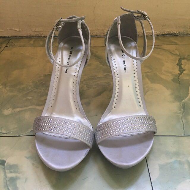 Gibi Silver Shoes