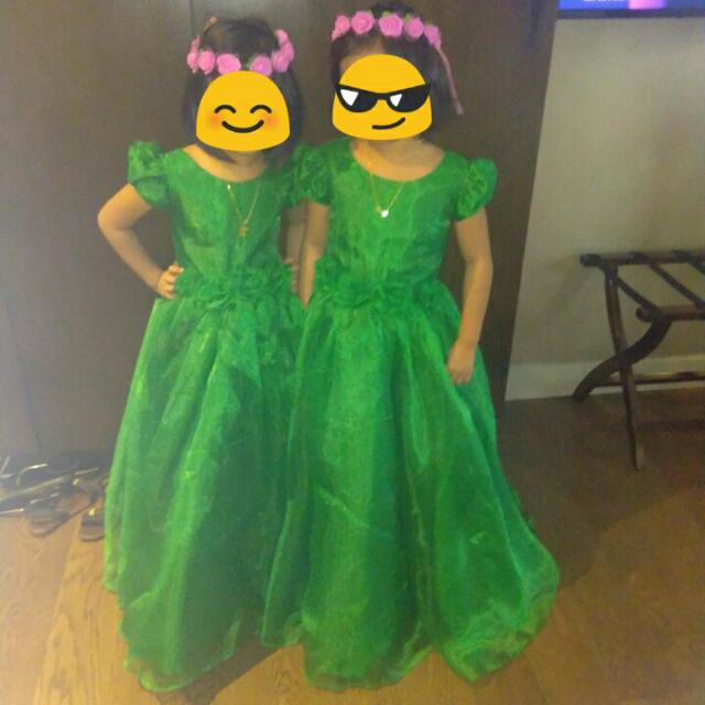 Gown for Flower Girls