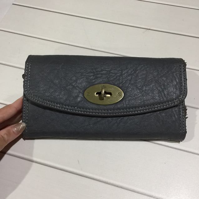 GREY IMPORT WALLET