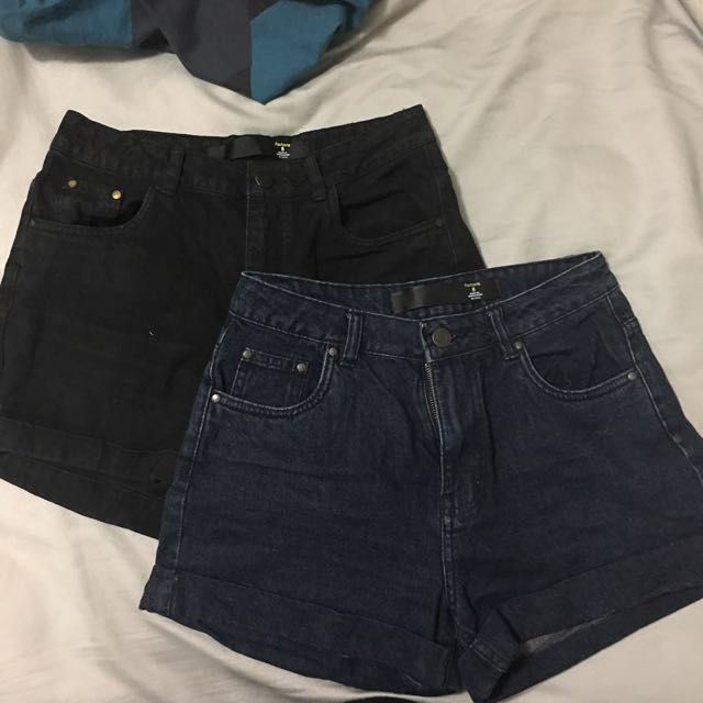 High waisted Shorts 2 for $15