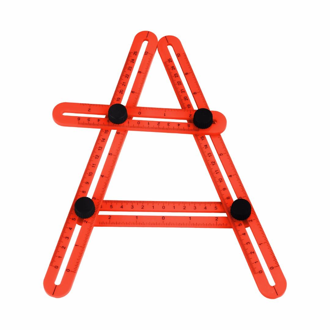 Hka0266 New Angle Izer Four Sided Ruler Angle Multi Izer Ruler