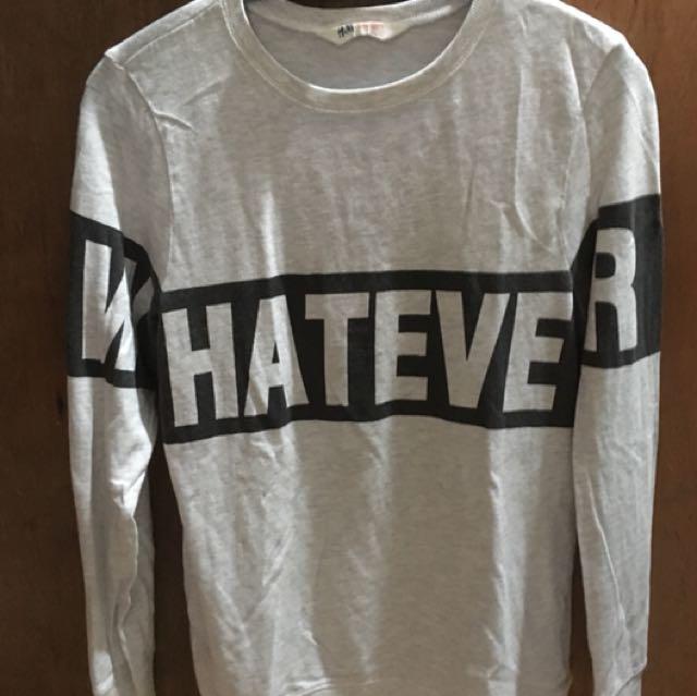 H&M Cotton Pre-loved shirt!!!